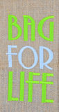 Bag for life. By natural Royalty Free Stock Photos