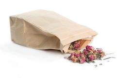 Bag of Loose Tea Stock Image