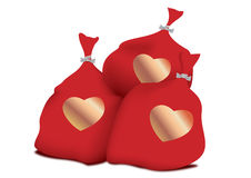 Bag of love Stock Photo