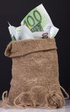 Bag  money Stock Photography