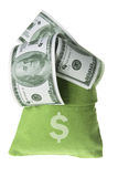 Bag of Money Royalty Free Stock Photo