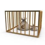 Bag_money Lizenzfreie Stockbilder