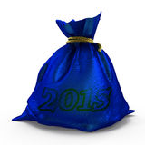 Bag_money Royalty-vrije Stock Foto