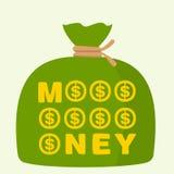 Bag of money Royalty Free Stock Photo