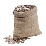 Bag of money. Royalty Free Stock Photography