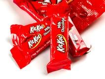 Free Bag Of Kit Kat Chocolate Candy Royalty Free Stock Image - 118539416