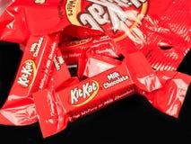 Free Bag Of Mini Kit Kat Candy Bars Royalty Free Stock Photography - 118539477