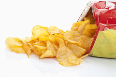 Bag Of Potato Chips Royalty Free Stock Images