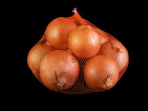 Bag of Onions Royalty Free Stock Photography