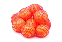 Bag of oranges Stock Photography