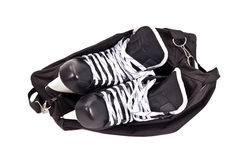 Bag for pair of hockey skates Royalty Free Stock Photos