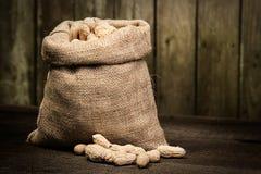 Bag of Peanuts Stock Photo