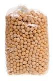 Bag of peas Royalty Free Stock Photos