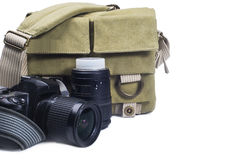 Bag photographer Royalty Free Stock Images