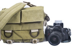 Bag photographer Stock Image