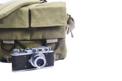 Bag photographer Royalty Free Stock Photos