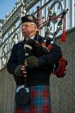 Bag pipe musician Stock Photo