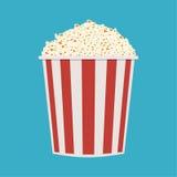 Bag of popcorn Stock Photo