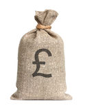 Bag from Pound. Royalty Free Stock Photography