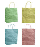 Bag recycle paper craft stick icon Royalty Free Stock Photography