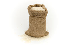 Bag of rice. Fig. Royalty Free Stock Photo
