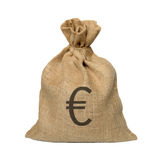 Bag from a sacking. Stock Images