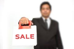 Bag sale Stock Photos