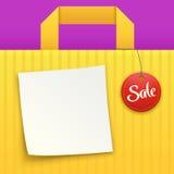 Bag sale 03 Stock Image
