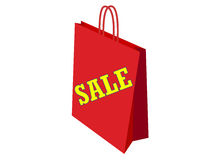Bag for sales Stock Photography