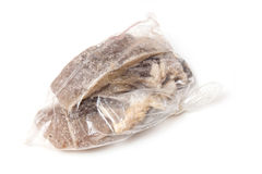 Bag of salt cod Royalty Free Stock Image