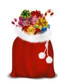 Bag of Santa Claus Royalty Free Stock Photo