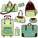 Bag set Stock Photography