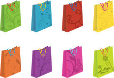 Bag Set Royalty Free Stock Image