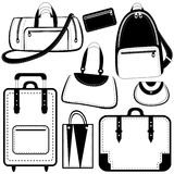 Bag set vector Stock Photo