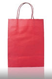 Bag for shopping isolated stock photos