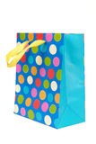 Bag for shopping. On a white background Royalty Free Stock Photo
