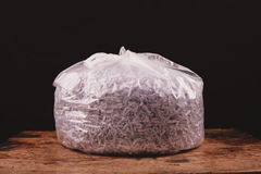 Bag of shredded paper Stock Photography