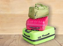 Bag stack Stock Photography
