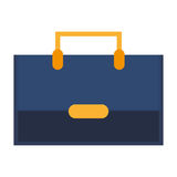 Bag suitcase business line icon. Isolated  illustration Royalty Free Stock Photography