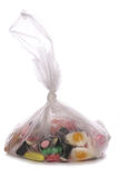 Bag of sweets Stock Photo