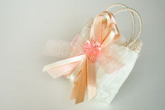 Bag of sweets. Wedding bag of sweets Stock Image
