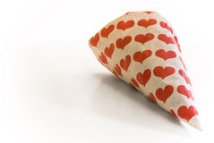 Bag of sweets from funfair Royalty Free Stock Images