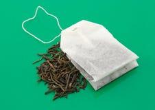 bag tea royaltyfri fotografi