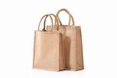 Bag. Textile eco bag on white background Stock Photo