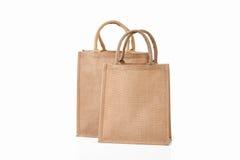 Bag. Textile eco bag on white background Royalty Free Stock Photography