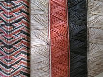 Bag textures. Textures of artisan straw stock market of palm - Typical of the Lencois Maranhenses - North of Brazil Stock Image