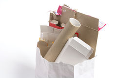 Bag of Trash Stock Image