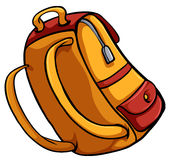A bag for travelling. An idiom showing a bag for travelling on a white background Royalty Free Stock Photos