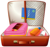 A bag for travelling Stock Photo