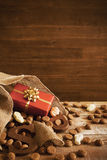 Bag with treats, for Dutch holiday 'Sinterklaas' Royalty Free Stock Image